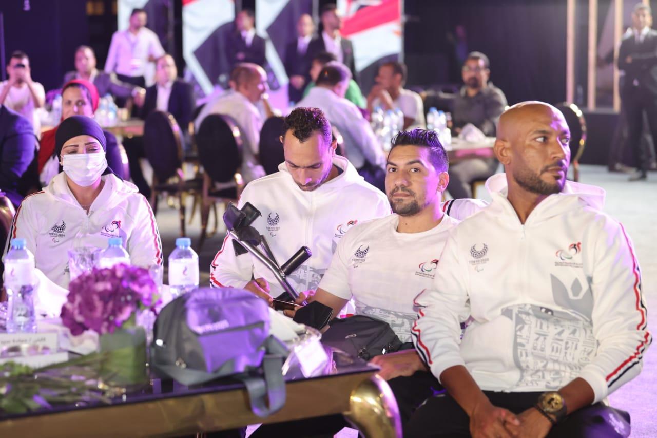 تكريم أبطال بعثة مصر في بارالمبياد طوكيو 2020