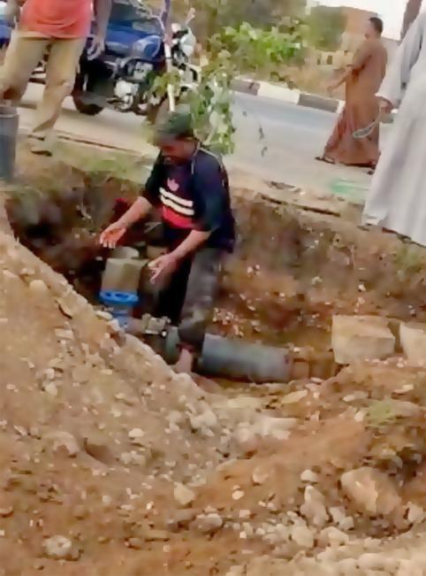 حل مشكلة ضعف المياه بمنطقة أبو الجود بالأقصر