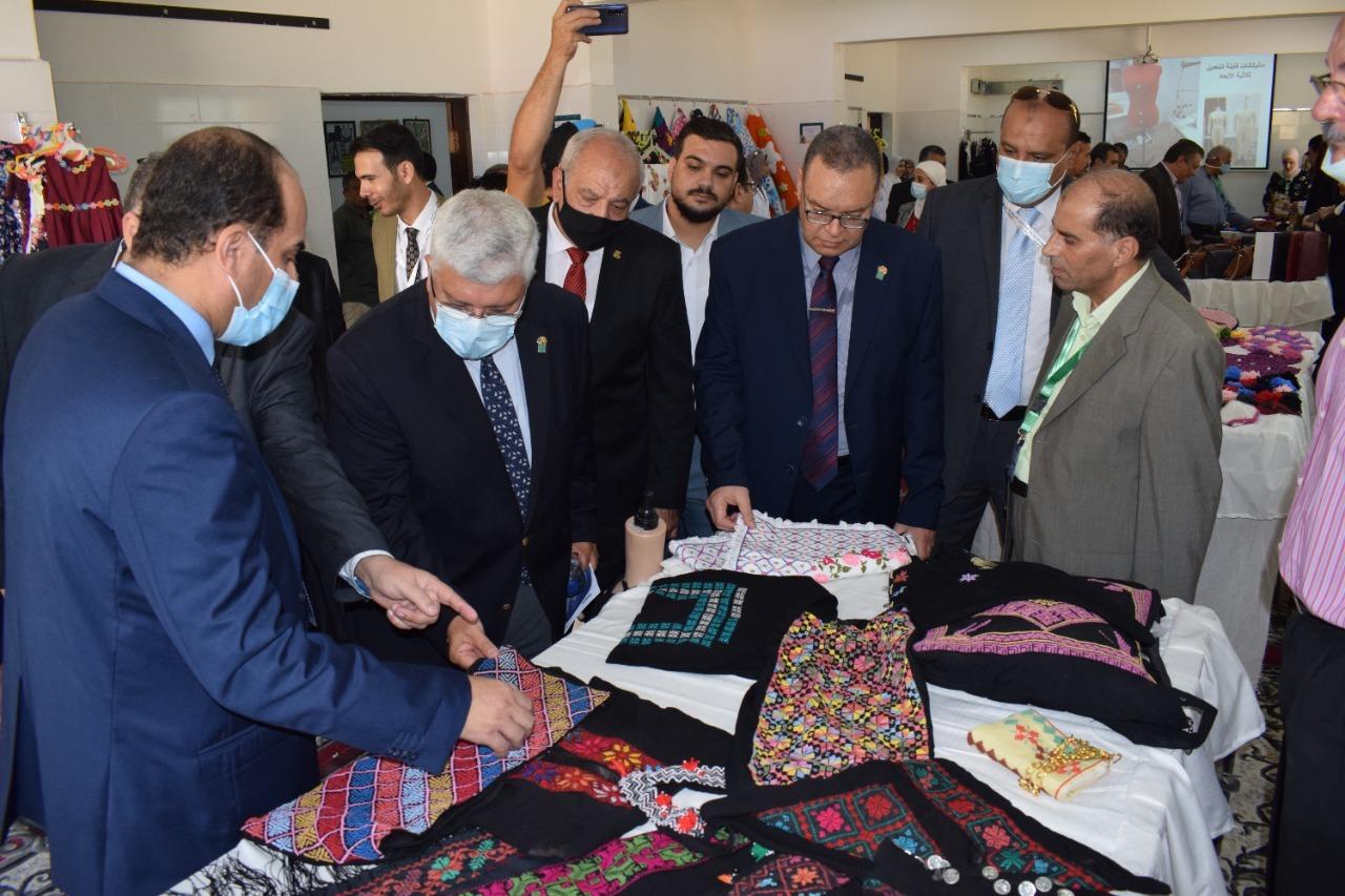 افتتاح ملتقى شباب جامعات المحافظات الحدودية بالعريش