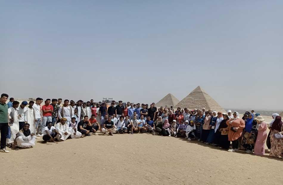 المشاركين ببرنامج أمل مصر لأبناء المحافظات الحدودية