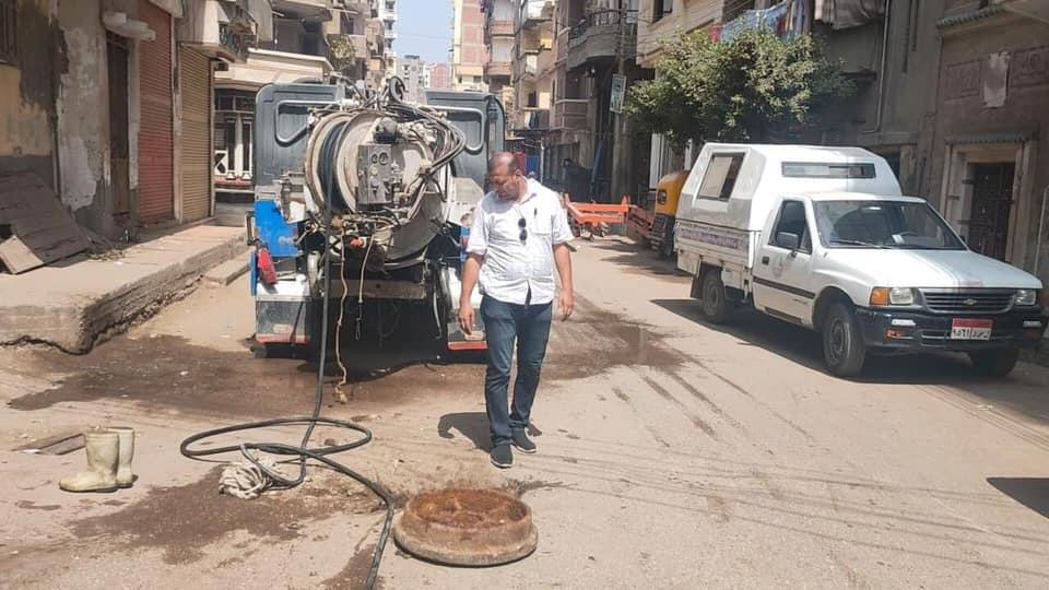 حملات للنظافة وتطهير البيارات ومحطات خفض المنسوب بدسوق صور