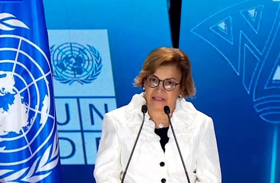 ممثل برنامج الأمم المتحدة الإنمائي ترسخ الإعجاب الشديد الذى أكنه لمصر وأدركت عبارة ;مصر أم الدنيا;