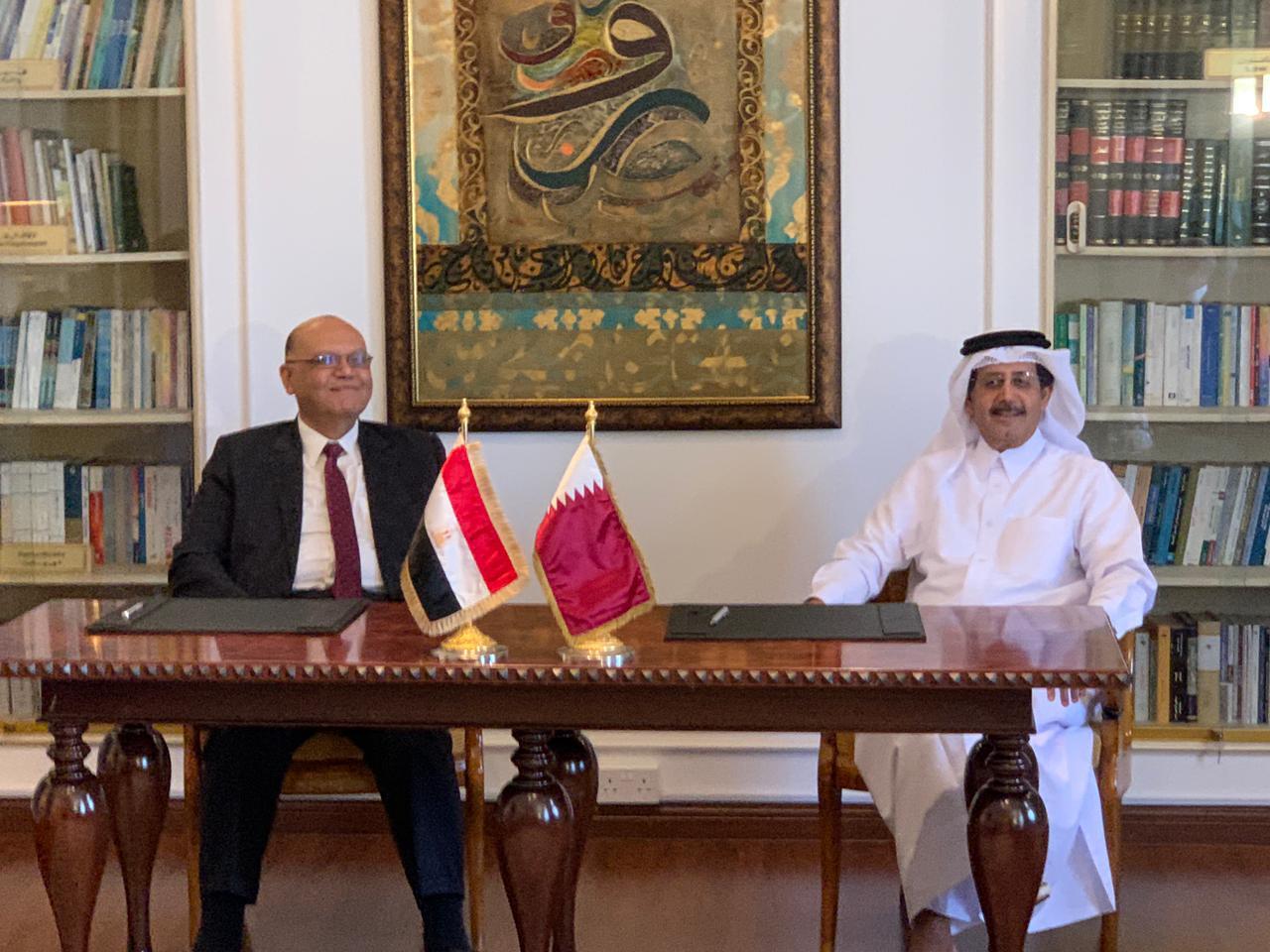 لجنة المتابعة المصرية القطرية تعقد اجتماعًا  لتوقيع عدد من مذكرات التفاهم بين البلدين