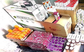 ضبط-أدوية-مهربة-ومغشوشة-في-حملات-مكثفة-على-الصيدليات-بقنا- -صور-