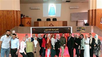 رئيسة-قسم-الملابس-الجاهزة-بجامعة-دمياط-نعمل-على-رقي-المنتج-المصري- -صور
