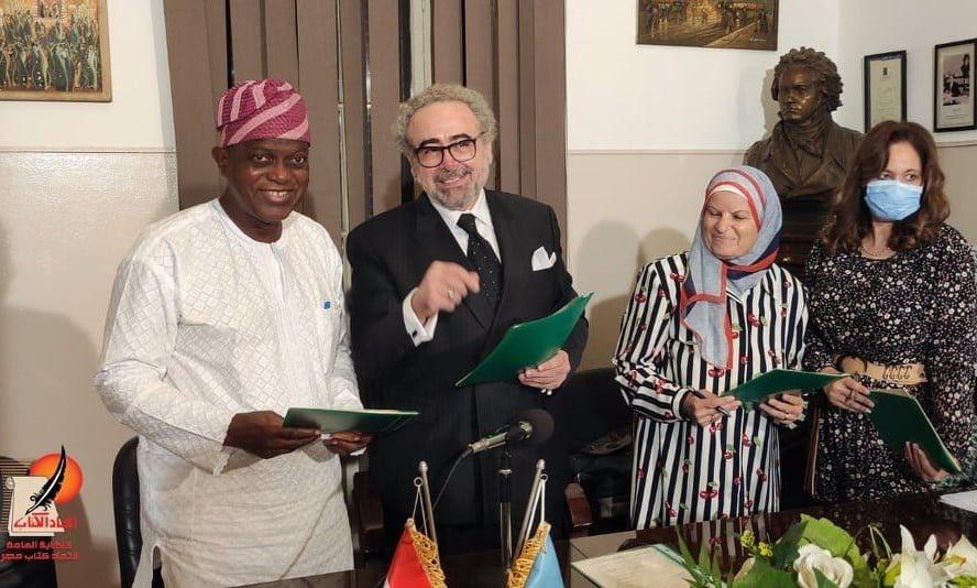 اتفاقية لإنشاء مكتب ترجمة بين  كتاب مصر العرب  والأفارقة   صور