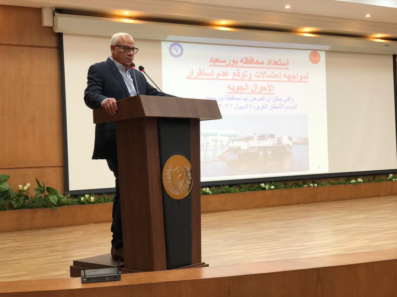 عادل الغضبان شرق بورسعيد من أعظم مناطق العالم ونستهدف جذب المستثمرين إليها