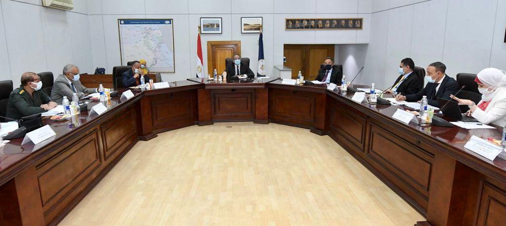 وزير السياحة يستعرض الاستعدادات النهائية لمشروع ترميم قصر محمد علي بشبرا| صور