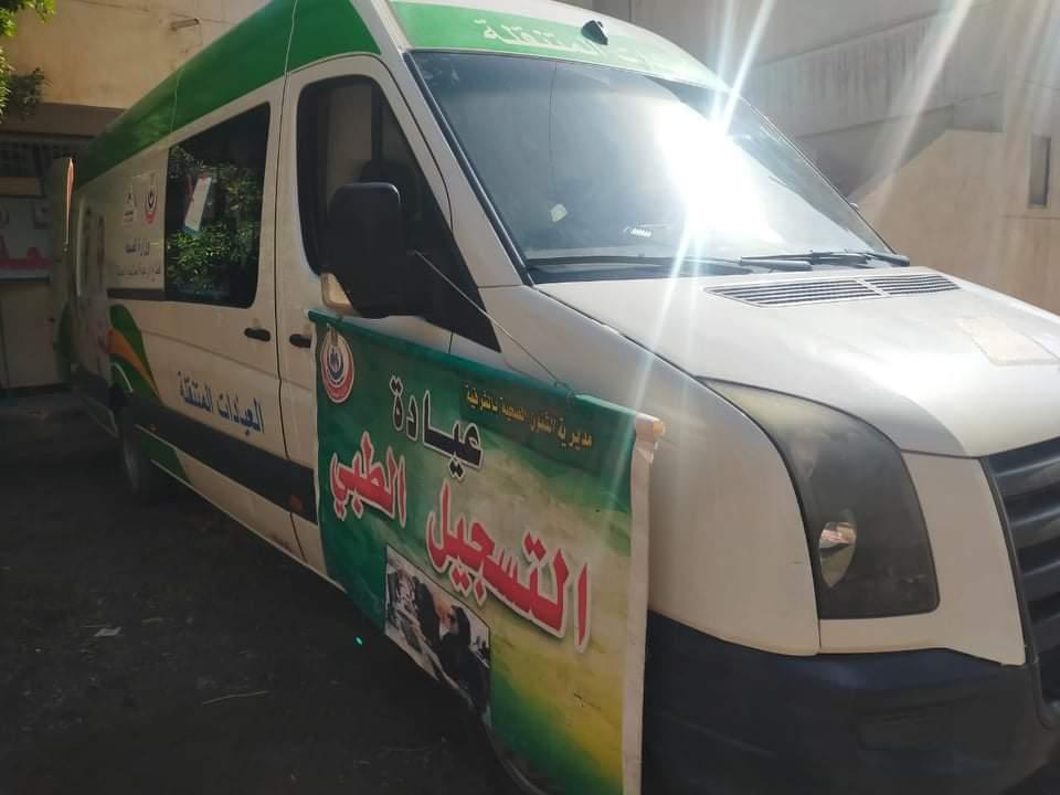 قافلة طبية لعلاج  مرضى في تل مسمار بالشرقية | صور