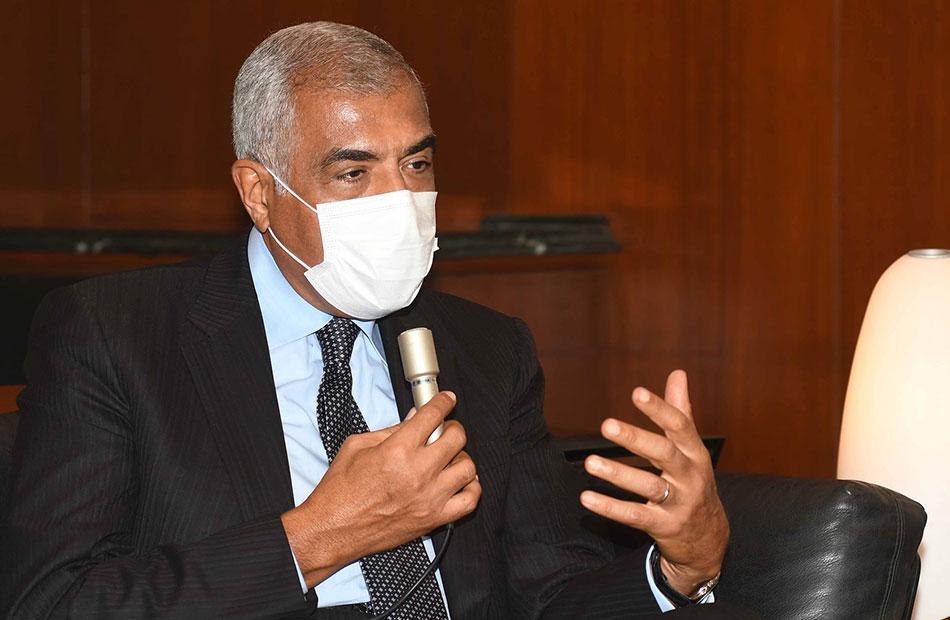 هشام طلعت مصطفى ;الأهرام; هرم مصر الرابع ولها دور كبير في الترويج لمشروعات المجموعة  صور