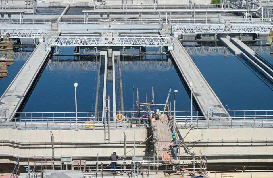 الوكالة الفرنسية للتنمية تعزيز الاستخدام للموارد المائية بتمويل  مليون يورو لمعالجة الصرف والطاقة | صور