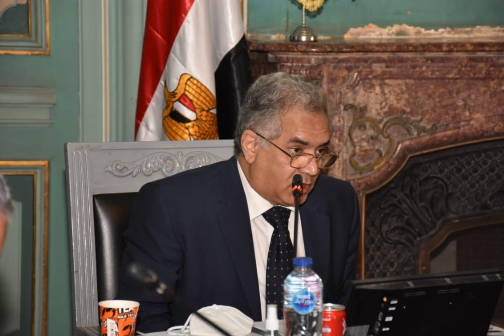 الاجتماع الأول لمجلس كلية الآثار بجامعة عين شمس