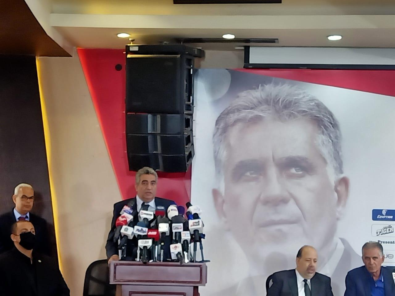 أحمد مجاهد ثقتنا كبيرة بجهاز كيروش في التأهل للمونديال