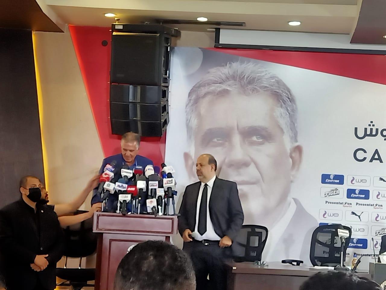 كيروش  اعتبروني مصري وسأستغل قدراتي لتحقيق النجاح مع المنتخب