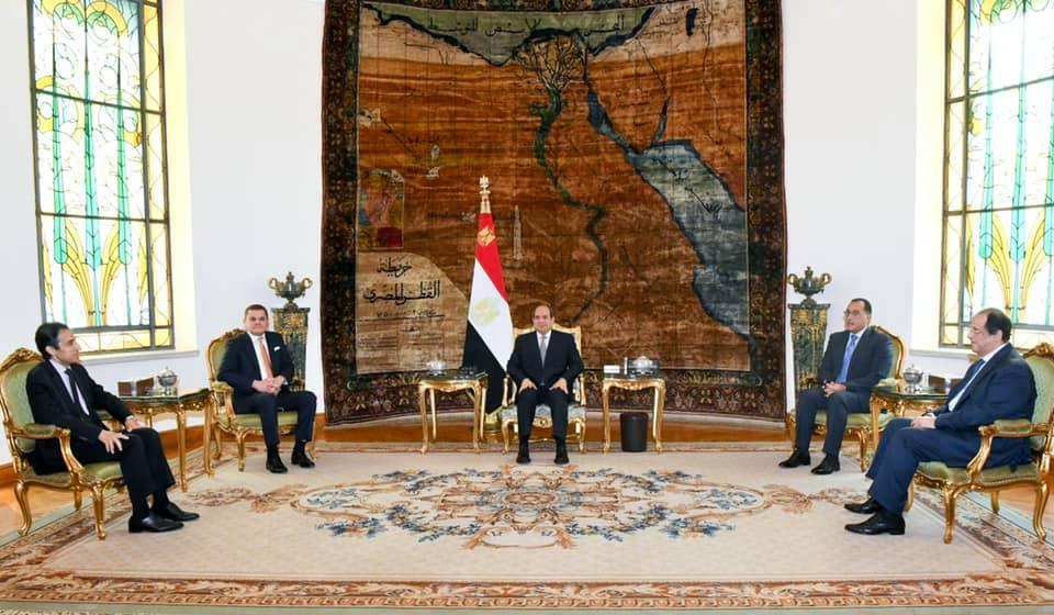 الرئيس السيسي صدور قانون الانتخابات في ليبيا خطوة مهمة لتنفيذ خارطة الطريق التي أقرها الليبيون