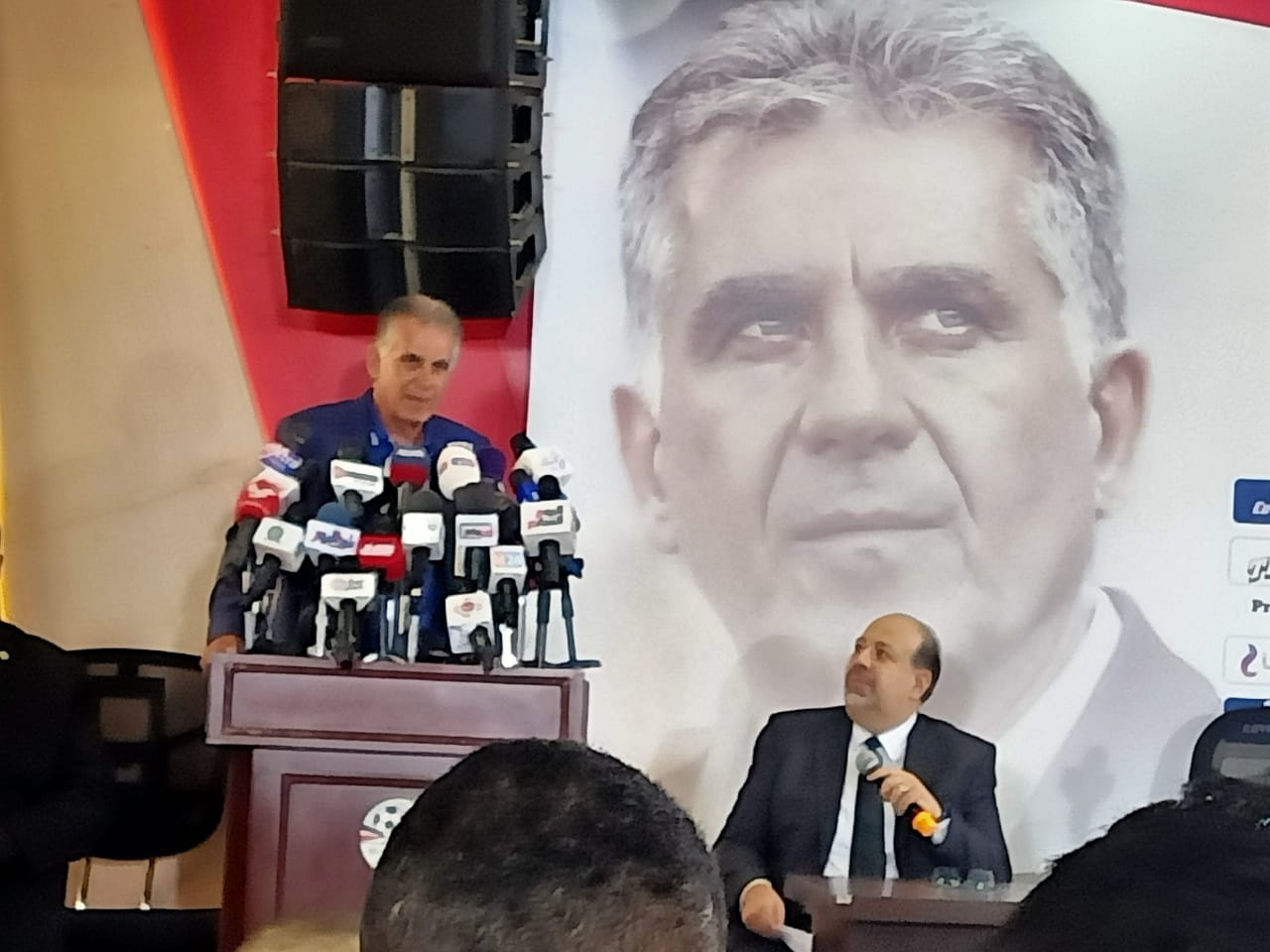 كيروش سنعمل بدعم  ملايين مصري لتحقيق حلم المونديال