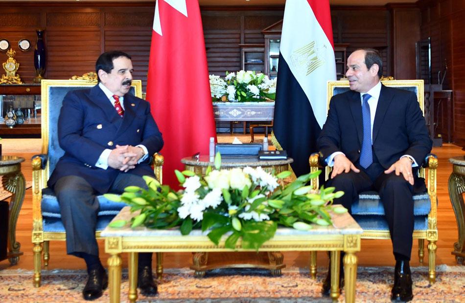 ملك البحرين يؤكد موقف بلاده الداعم لمصر والسودان وتأييد كل ما يحفظ حقوقهما في نهر النيل
