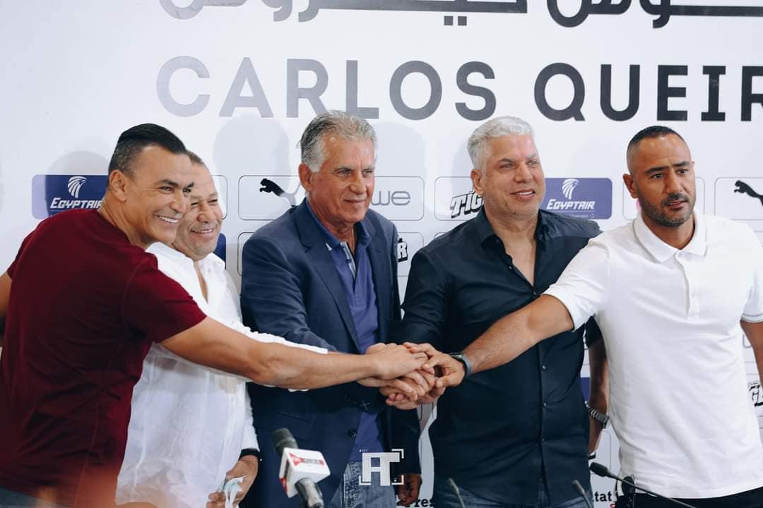 جهاز منتخب مصر يتابع مران الزمالك المسائي