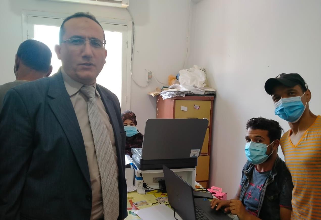 مدير الطب البيطري بالأقصر يتفقد أعمال تطعيم فيروس كورونا  صور