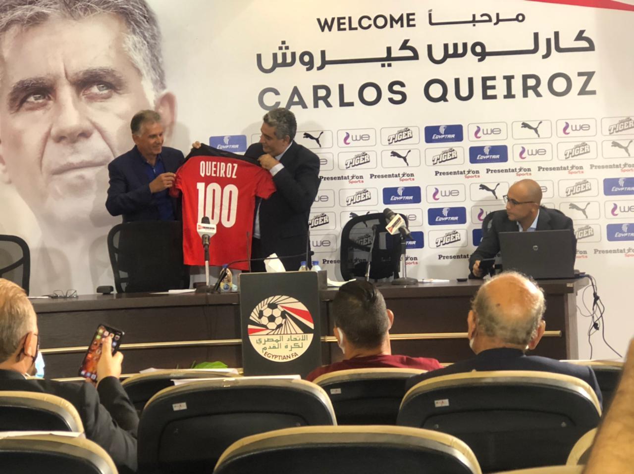 ;كيروش; التاريخ ينتصر لـ ;الفراعنة; أمام ليبيا ويجب على لاعبي المنتخب إثبات ذلك