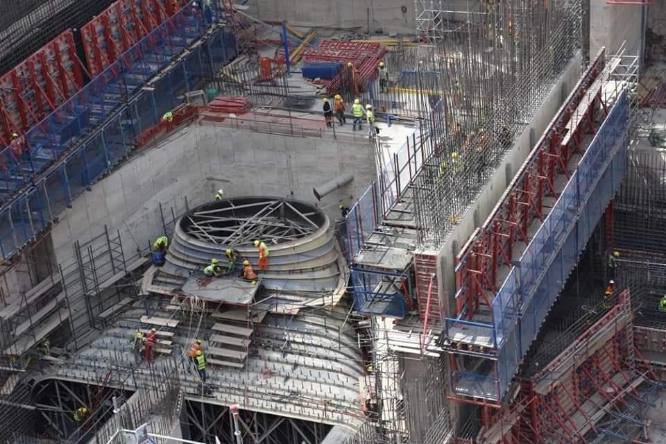 وفد من التحالف المصري يتفقد مشروع سد ومحطة جوليوس نيريرى الكهرومائية بتنزانيا صور