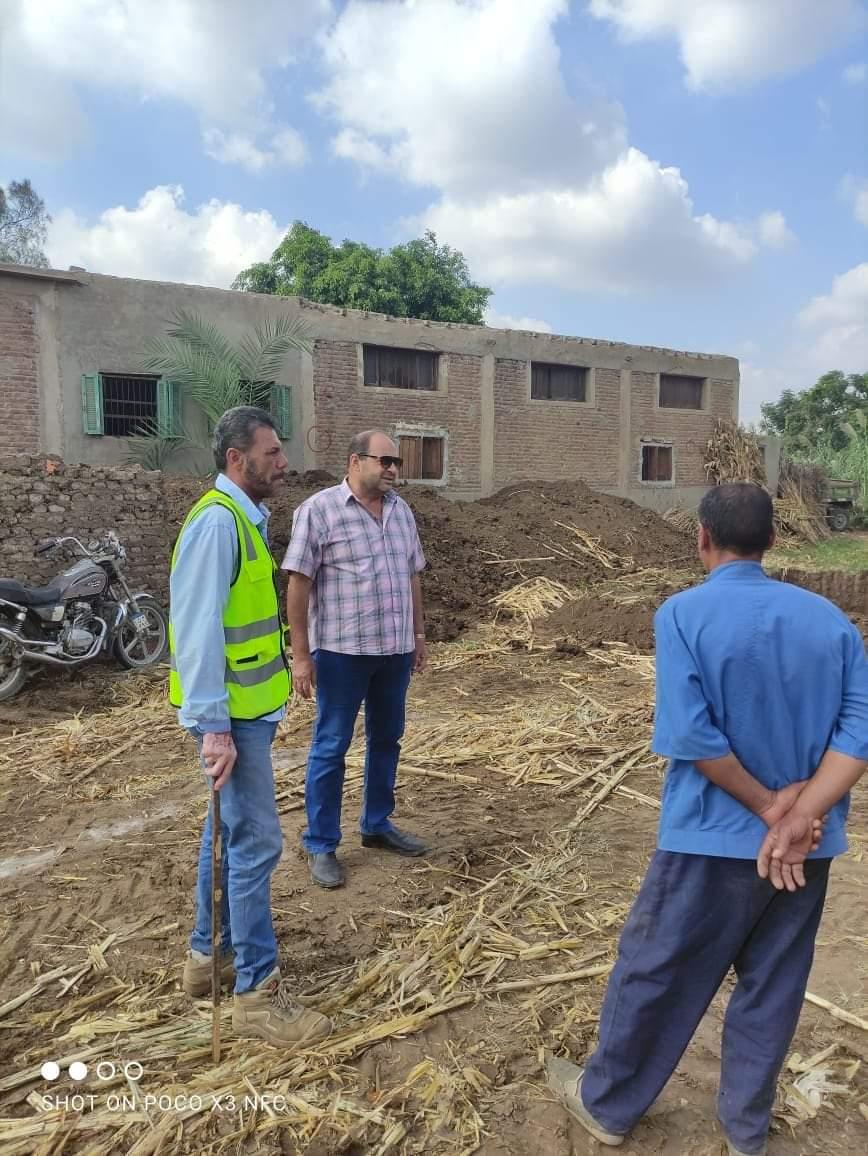 إنشاء المجمع الزراعي بقورص ضمن مبادرة حياة كريمة بالمنوفية