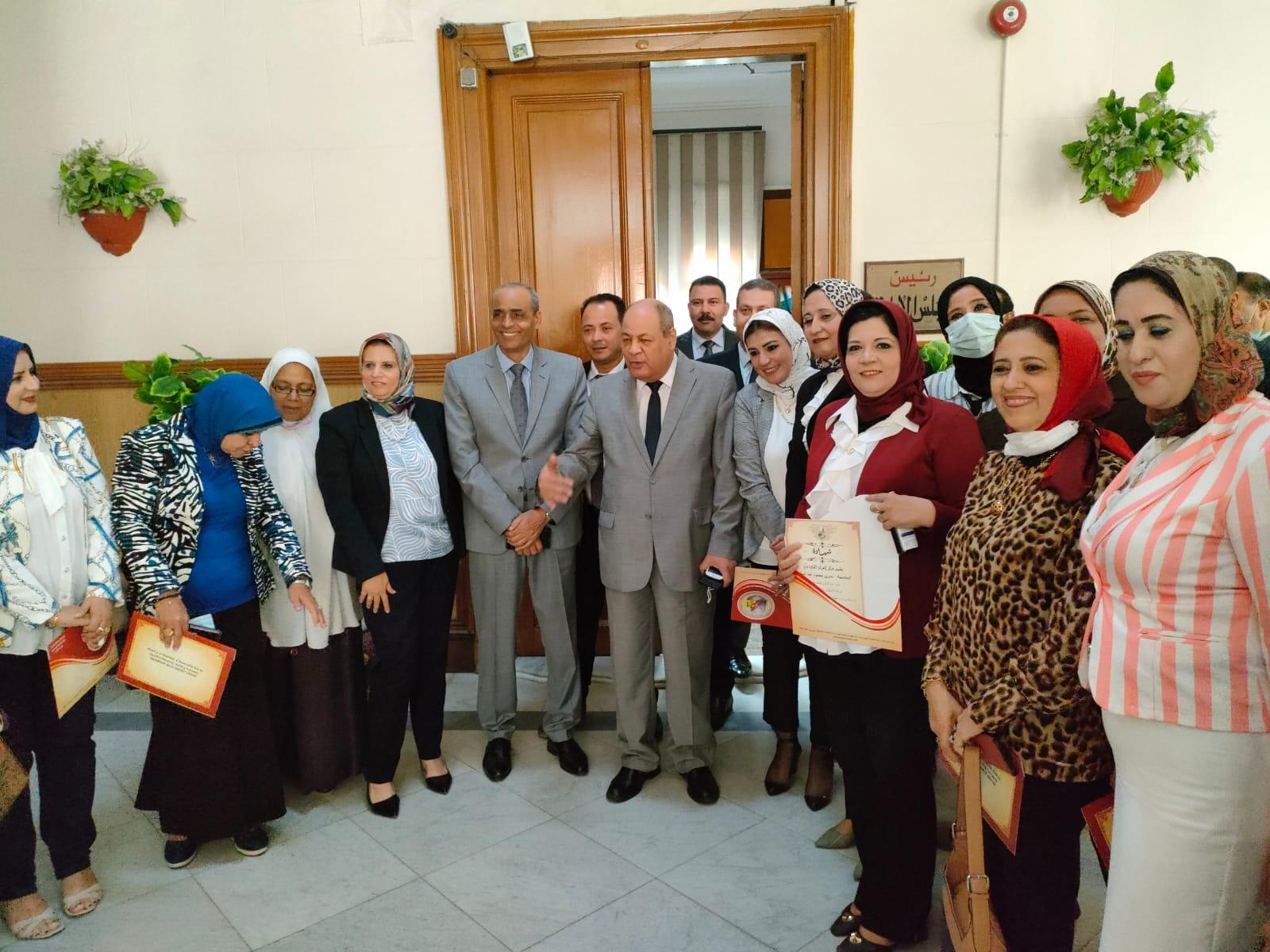 فعاليات دورة تنمية المهارات الإدارية والقيادية بكهرباء الإسكندرية
