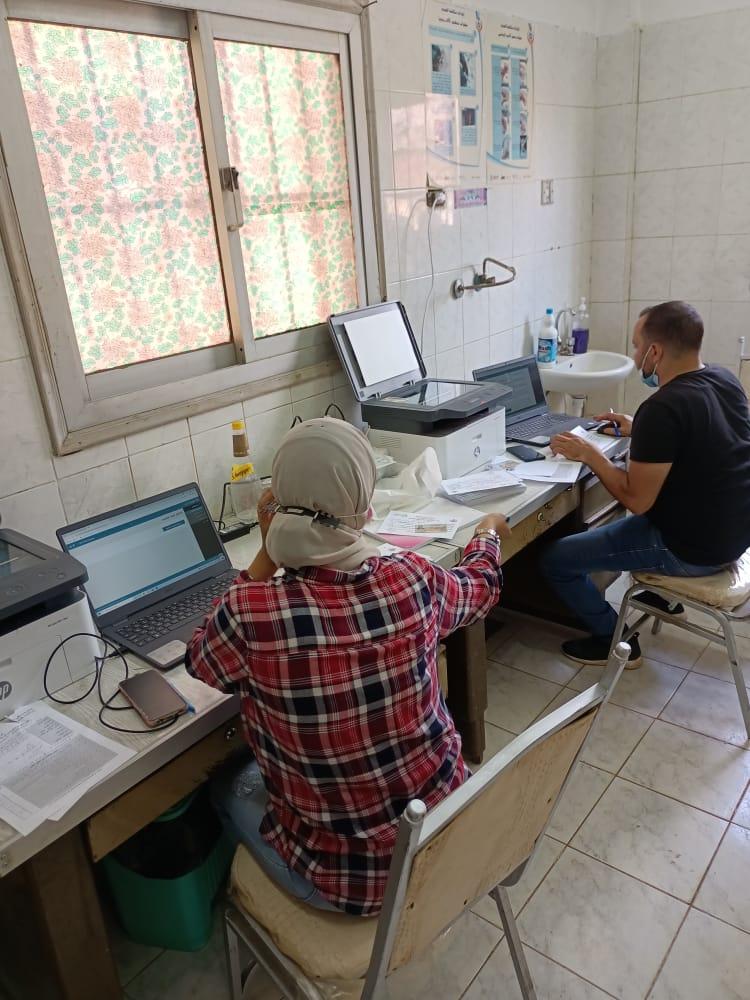 تطعيم المواطنين بلقاح كورونا في 18مركزا بالمنوفية