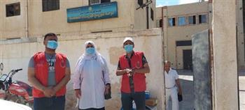 صحة-مطروح-إطلاق-فرق-طبية-متنقلة-في--مدن-لتطعيم-الأهالي-ضد-كورونا- صور
