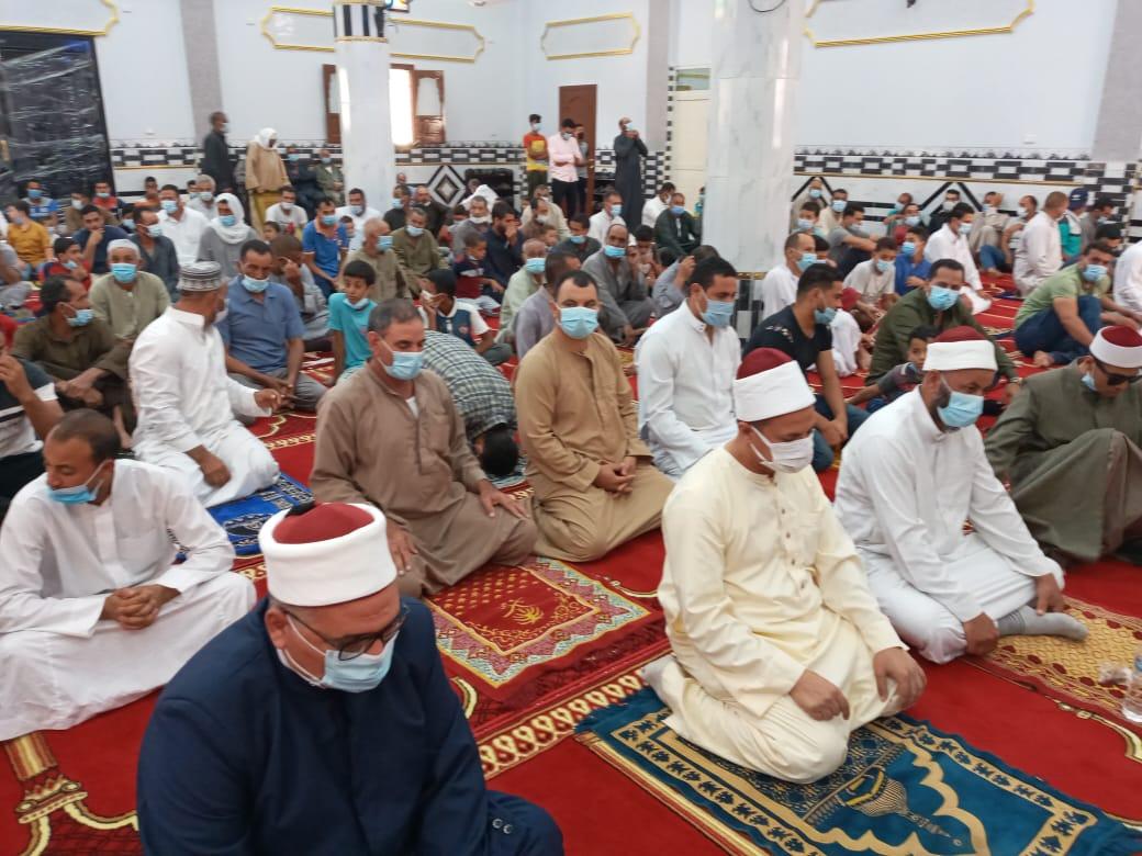 افتتاح  مساجد جديدة بقرى كفر الشيخ بتكلفة  ملايين جنيه بالجهود الذاتية   صور