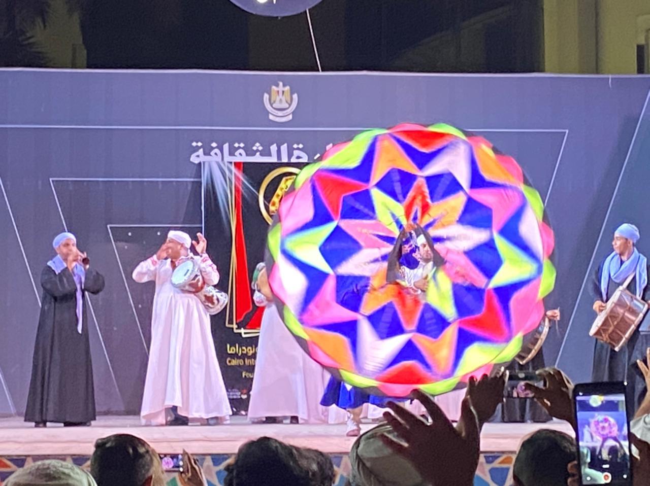 على أنغام المزمار والتنورة أيام القاهرة الدولي للمونودراما يسدل الستار على فعالياته