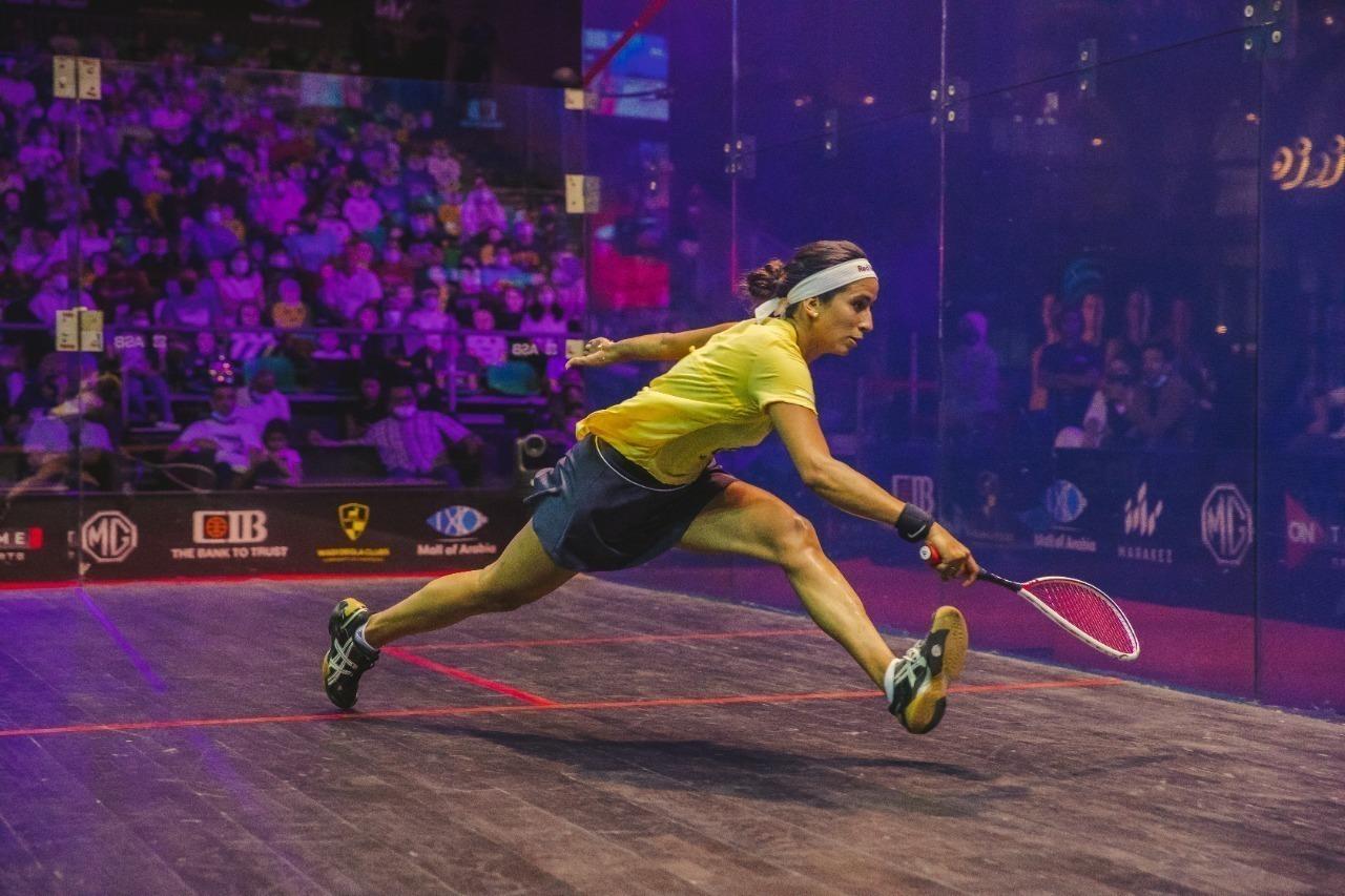 نوران جوهر تتوج بلقب بطولة مصر الدولية للإسكواش