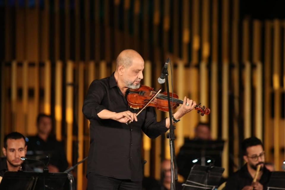 جانب من حفل الاحتفال بذكرى الموسيقار بليغ حمدي