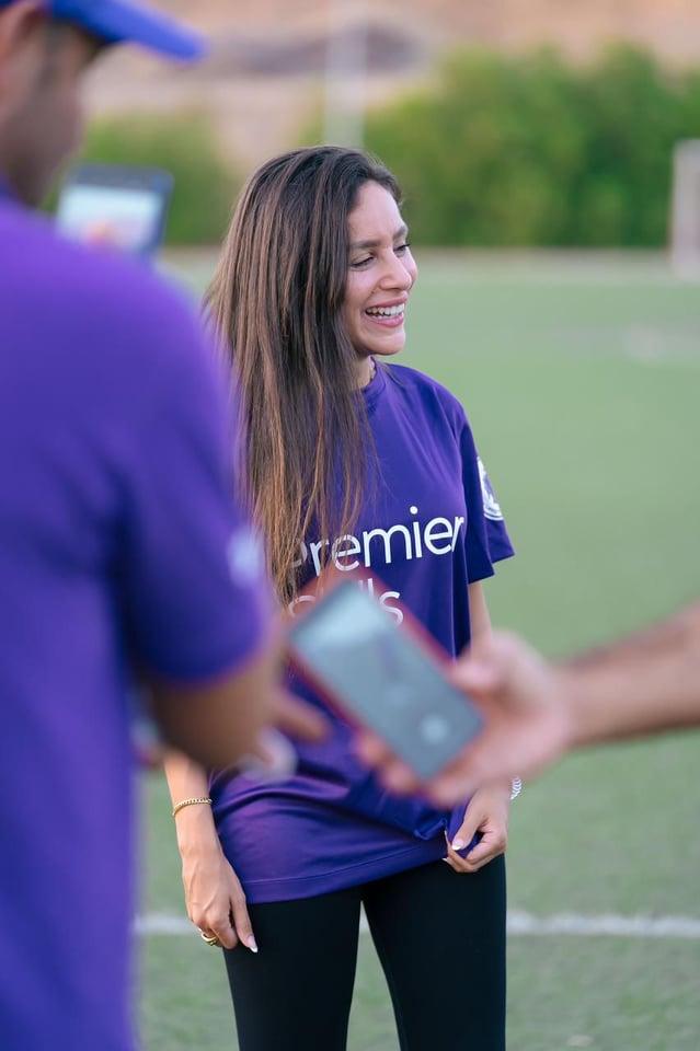 جميلة عوض تحقق حلم فتيات سيناء في لعب كرة القدم في   Premier S
