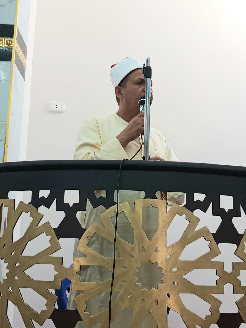 افتتاح  مساجد بقرى كفر الشيخ