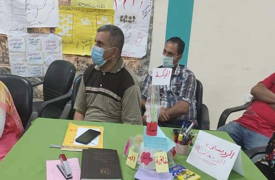 ورش عمل تدريب حوكمة الإدارة المدرسية بشرم الشيخ