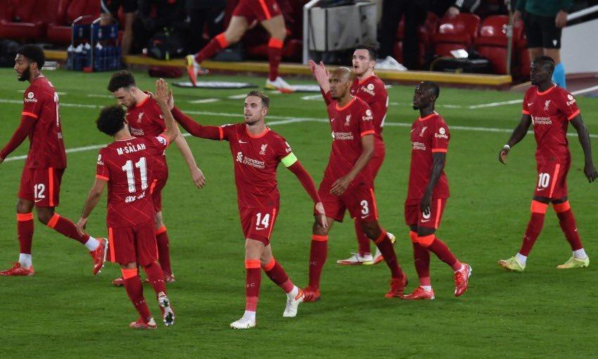 تشكيل ليفربول المتوقع في مواجهة كريستال بالاس بالدوري الإنجليزي اليوم