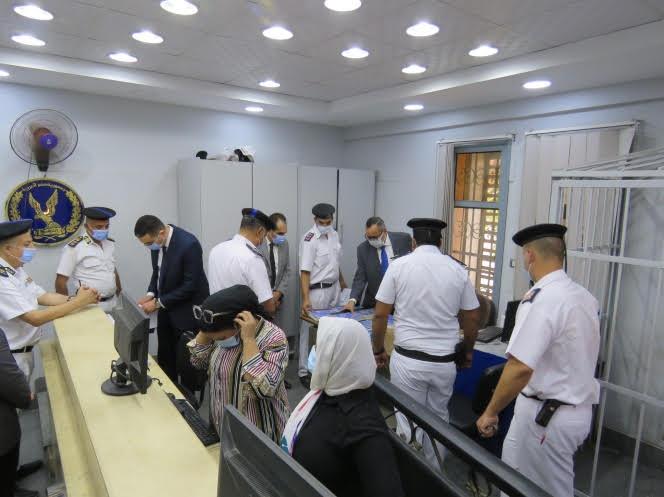 جهود أمنية مستمرة لمواصلة الارتقاء بالمواقع الشرطية الخدمية| صور