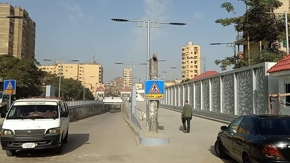 محافظة الجيزة غلق كلي لنفق ;الزعفرانة; لمدة شهرين