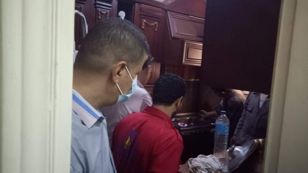 ضخ الغاز الطبيعي للمنازل بمدينة أشمون بالمنوفية   صور