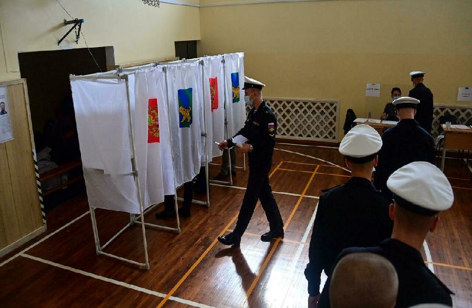 روسيا تصدينا للهجمات التي استهدفت أنظمة التصويت الإلكتروني خلال اليوم الأول