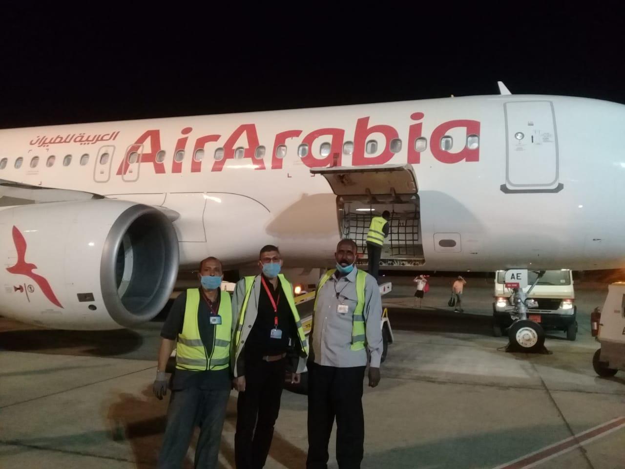 مطار أسوان الدولي يستقبل أولى رحلات خطوط العربية للطيران