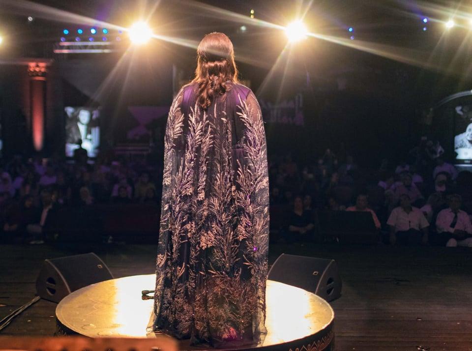 حفيدة أم كلثوم  تعيد إحياء ذكرى جدتها في مسرح الزمالك