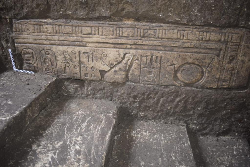 الكشف الأثري بكفر الشيخ  صور