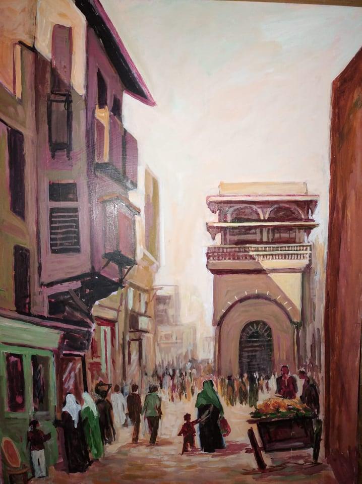 معرض  نغمات التفرغ  للفنان سيد البيباني