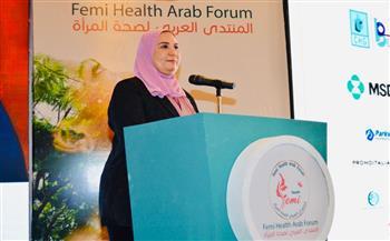 وزيرة-التضامن-تشيد-بجهود-منظمات-المجتمع-الأهلي-المهتمة-بدعم-صحة-وتنمية-المرأة-|-صور