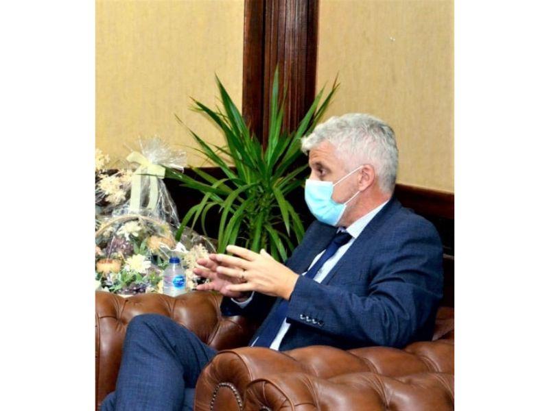 نائب رئيس ;PVH; الأمريكية مصر من أبرز الأسواق الواعدة بالمنطقة