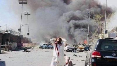قتلى وجرحى في انفجار بمدينة جلال آباد شرق أفغانستان