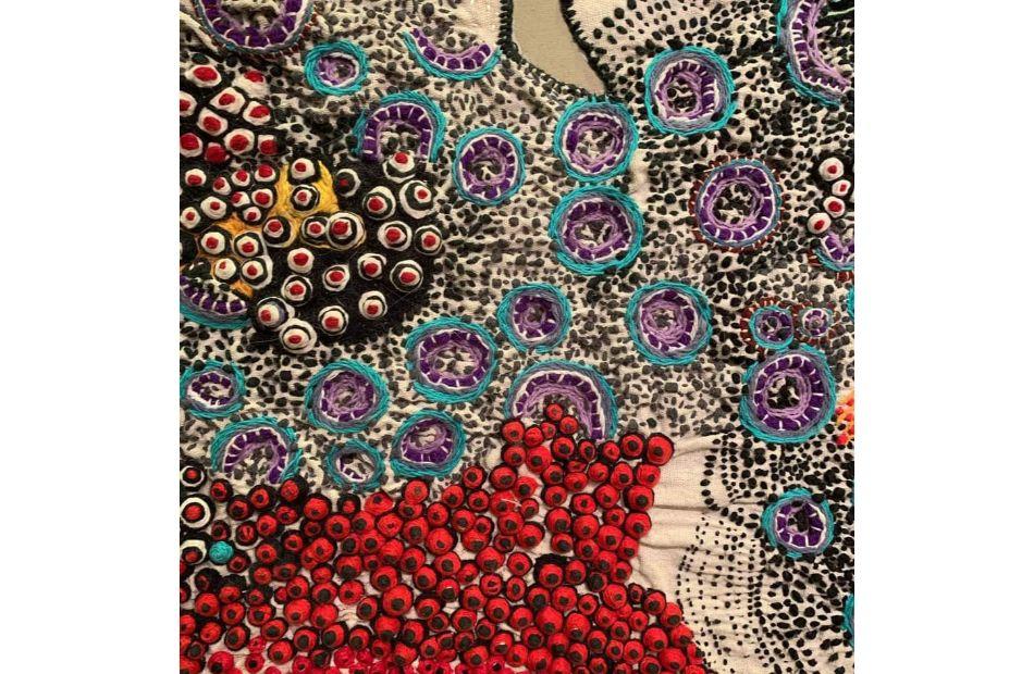 افتتاح معرض  الرحلة  للفنانة علياء الجريدي  سبتمبر