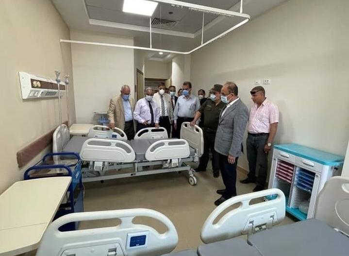 رئيس جامعة الزقازيق افتتاح مستشفى العاشر من رمضان نهاية أكتوبر المقبل بتكلفة ٩٠٠ مليون جنيه | صور